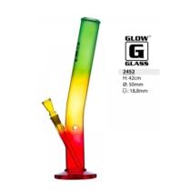 Üvegbong Reggae ívelt 42cm
