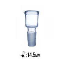 Üvegchillum rövid 14,5mm