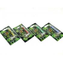 Fémpipaszett 5 szitával zöld