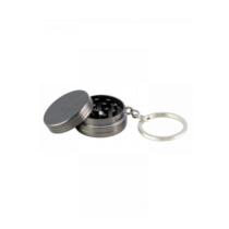 Minigrinder kulcstartó ezüst