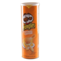 Pringles rejtekdoboz sárga
