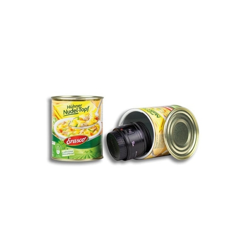 Élelmiszerkonzerv rejtekdoboz Húsleves
