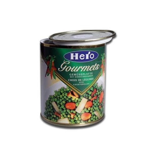 Élelmiszerkonzerv rejtekdoboz Zöldséges