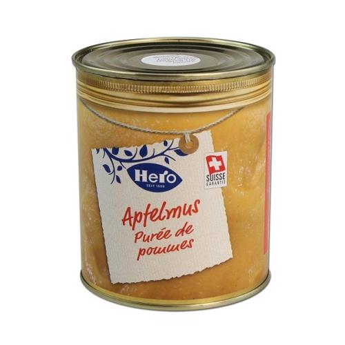 Élelmiszerkonzerv rejtekdoboz Almapüré
