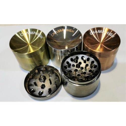 Alumínium grinder 4 részes 3 ezüst