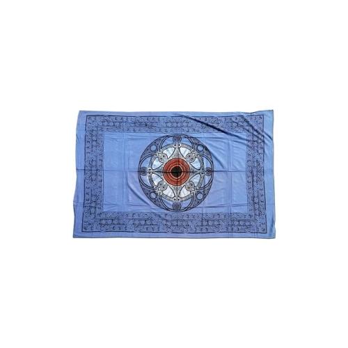 Batik kendő Celtik kör mintával