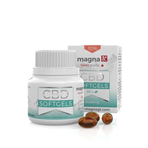Magna G&T CBD Lágygél kapszula 10%