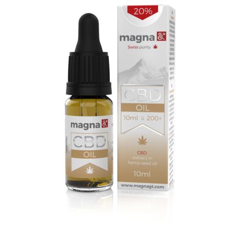 Magna G&T 20 % CBD Olaj (hemp)