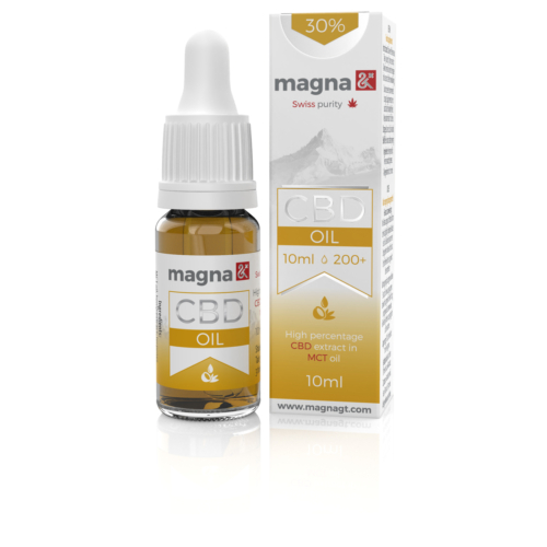 Magna G&T 30 % CBD Olaj (MCT)