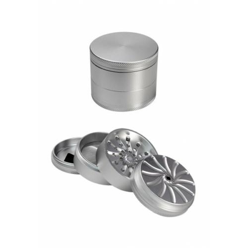 Masher Alumínium Grinder Ezüst