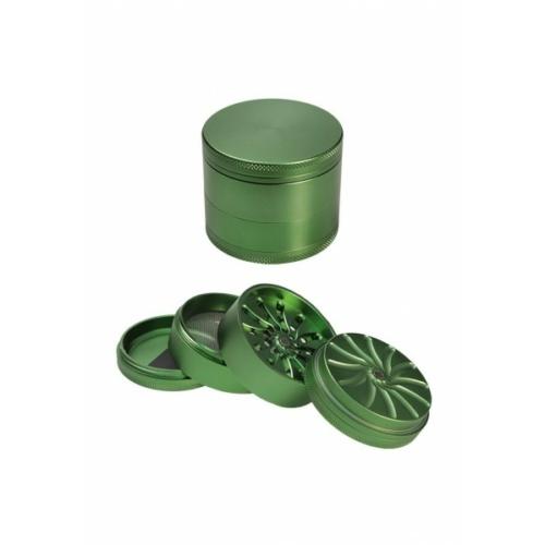 Masher Alumínium Grinder Zöld