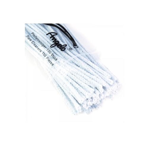 Pipatisztító kefe fehér 16cm